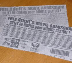 Promo Tickets