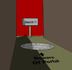 Search Engine Portal Trap