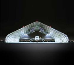 Radiant InfraTek Hangar