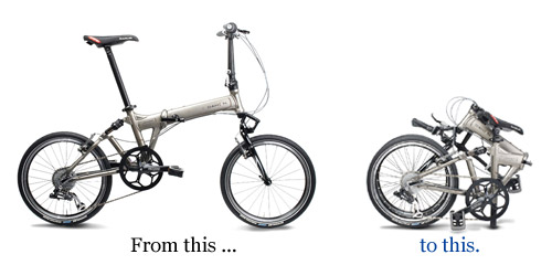 The Dahon Jetstream folding bike