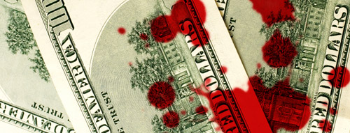 The blood money of debt