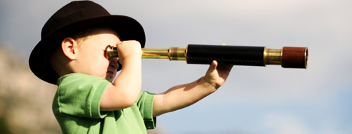 Boy with a Telescope